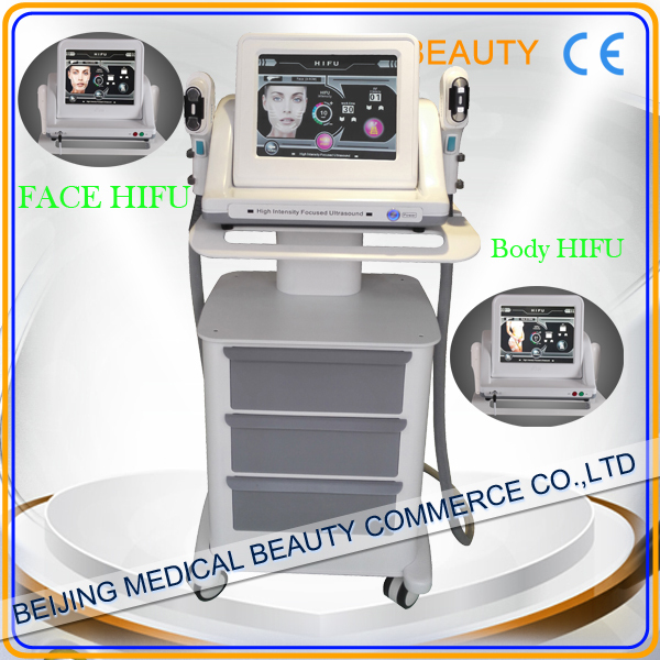 2016 Newest and Hottest High intensity focused ultrasound Korea HIFU machine