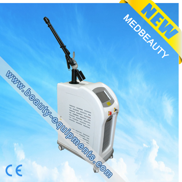 1064nm And 532nm Q Switched Nd Yag Tattoo Removal Beauty Machine