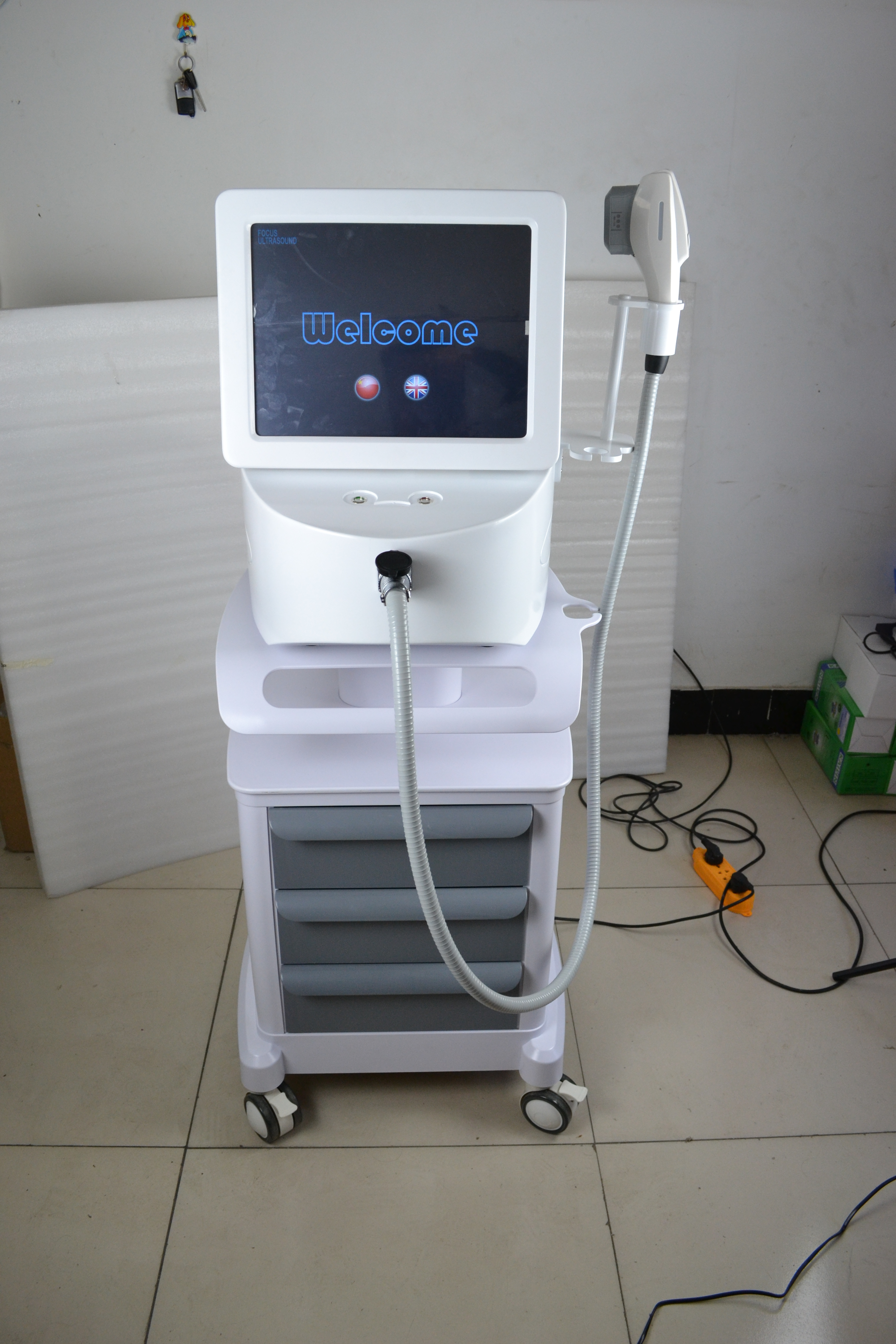 Professional High Intensity Focused Ultrasound Hifu Machine For Face Lift