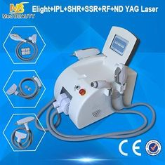 China High Power Hair Removal Machine IPL RF ND YAG Laser Permanent supplier