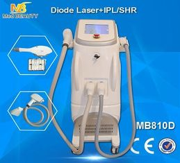 China Painless Diode Laser Hair Removal , Permanent 808nm IPL SHR Hair Removal Machine supplier