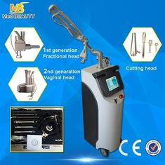 China Medical 10600 nm Co2 Fractional Laser , Vertical Scar Removal Machine supplier