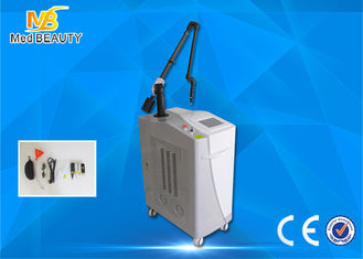 China Medical  Laser Tattoo Removal Equipment Double Lamps 1064nm 585nm 650nm 532nm supplier