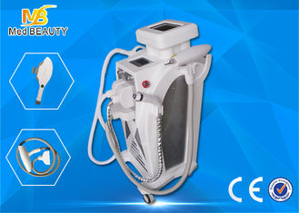 China Multifunction Elight Ipl Rf Q Switched Nd Yag Laser Hair Removal Pigment Removal Equipment supplier