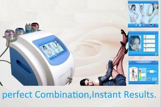 China Ultrasonic Cavitation Tripolar RF + Vacuum Slimming Machine 5 In 1 System supplier