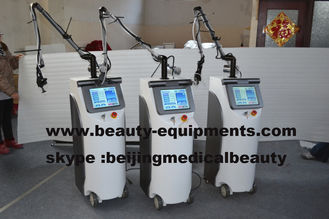 China Co2 Fractional Laser With RF Metal Tube 10600nm CO2 Skin Peeling Laser System supplier
