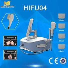 China Beauty Laptop HIFU Machine Salon Clinic Spa Machines 2500W 4 J/Cm2 distributor