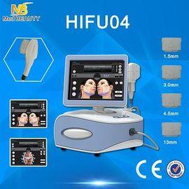 China Portable Hifu Machine Beauty Equipment Superficial Deel Dermis And SMAS distributor