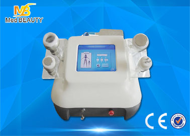 China Face Lifting Ultrasonic Cavitation Rf Slimming Machine , 8 Inch Color Touch Screen distributor