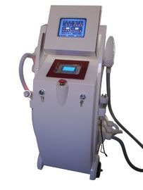 China IPL +Elight + RF+ Yag Laser Hair Removal And Tattoo IPL Laser Equipment distributor